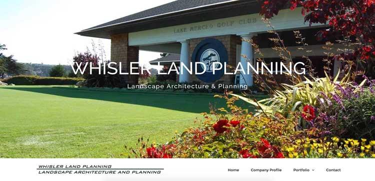Whisler Land Planning